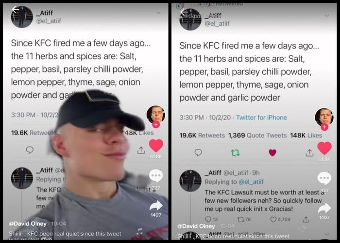 Heboh! Netizen Kembali Ungkap 11 Bumbu Rahasia Ayam Goreng KFC