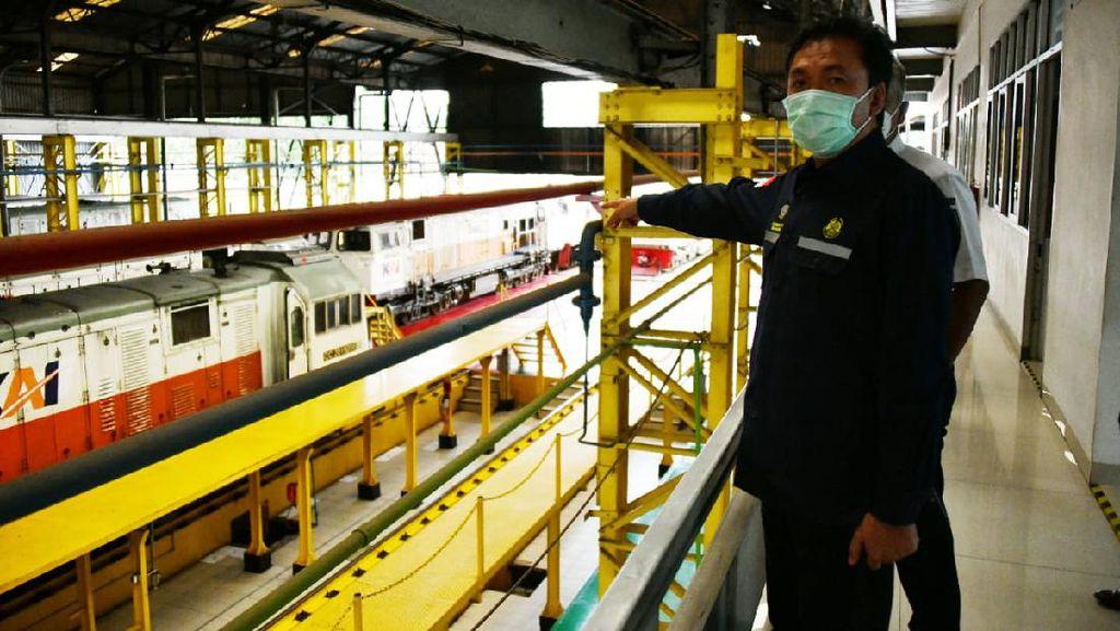 BPH Migas Percepat Penggunaan LNG untuk Bahan Bakar Kereta Api
