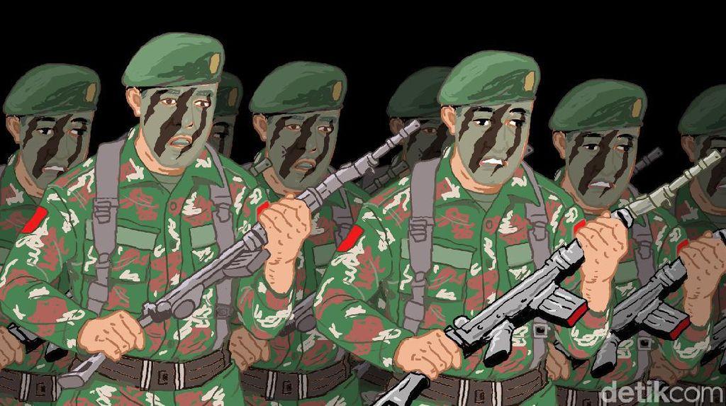 Berhubungan Seks Sesama Jenis dengan 8 Pria, Anggota TNI Dipenjara 6 Bulan