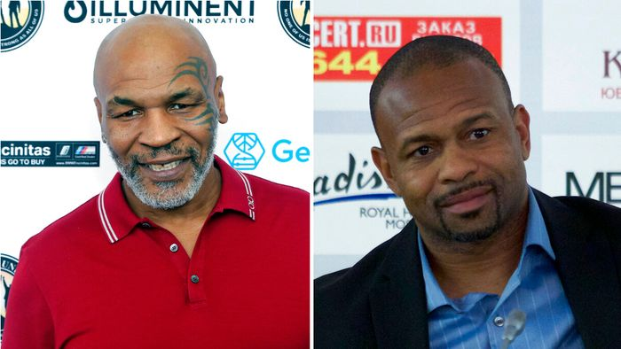 Mike Tyson, Roy Jones Jr