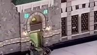 Penabrak Gerbang Masjidil Haram dalam Kondisi Tak Normal Saat Ditangkap
