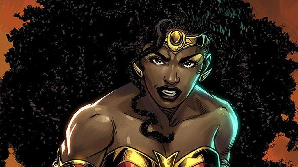 DC Comics Perkenalkan Nubia Sebagai Wonder Woman Baru