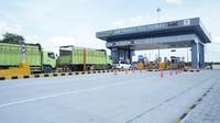 Jalan Tol Trans Sumatera Ruas Pekanbaru-Dumai. Penampakan gerbang tol Dumai.Foto: Dok. PT Hutama Karya (Persero)