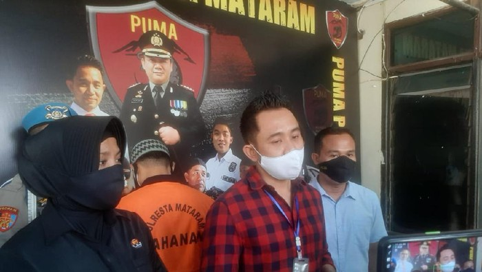 Polisi Tangkap Seorang Pria yang Diduga Memeras Sepasang Kekasih di Mataram