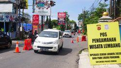 Puncak Arus Balik Libur Panjang di Lembang Terjadi Sabtu Sore-Malam