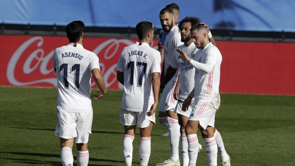 Madrid Vs Huesca: Hazard Bikin Gol, Los Blancos Menang 4-1