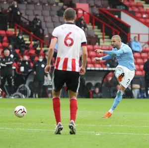 Babak I: Man City Memimpin 1-0 atas Sheffield