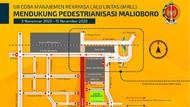 Mulai 3 November, Malioboro Diuji Coba Bebas Kendaraan Bermotor