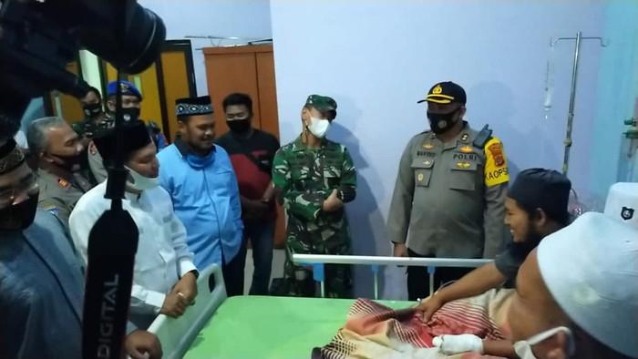 Ustaz yang ditusuk di Aceh dirawat di RS