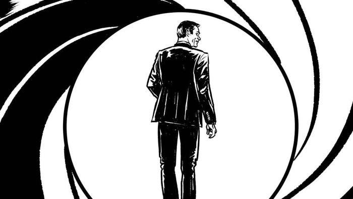 Tribute Komik Faktap pada Aktor James Bond Sean Conney