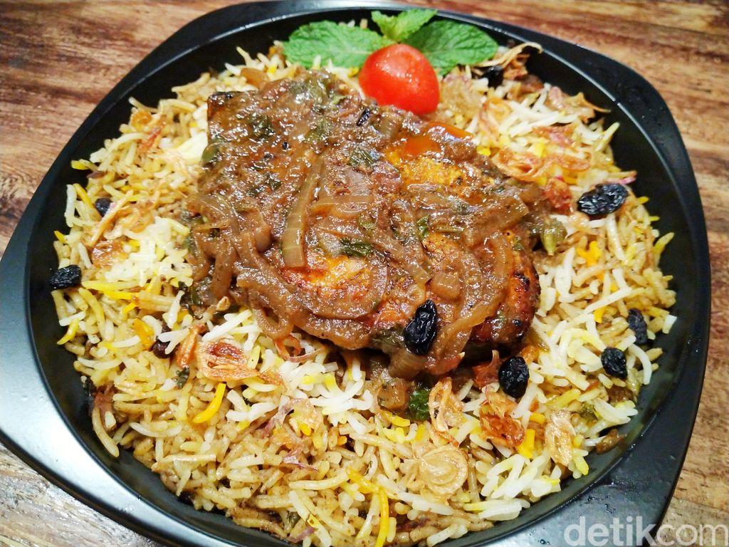 Biryani Chef Hinam : Nasi Timur Tengah Autentik