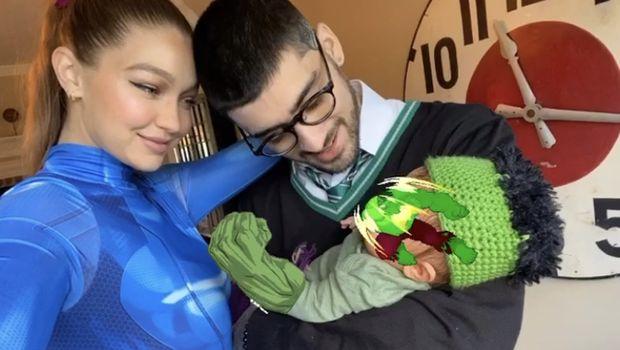 Gigi Hadid dan Zayn Malik pamer bayi