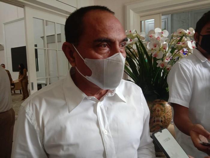 Gubernur Sumut Edy Rahmayadi (Ahmad Arfah-detikcom)