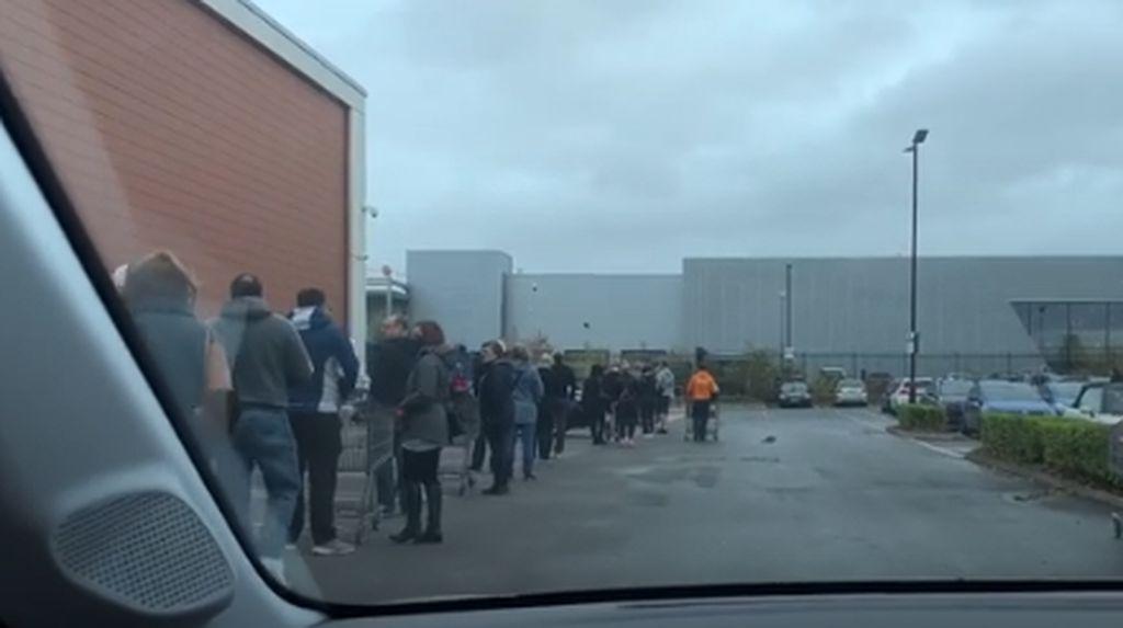 Suasana Panic Buying di Perth Usai Pengumuman Lockdown
