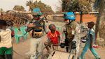 Ini Polwan Cantik Penjaga Perdamaian PBB di Afrika