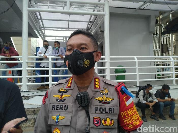 Kapolres Metro Jakarta Pusat Kombes Heru Novianto