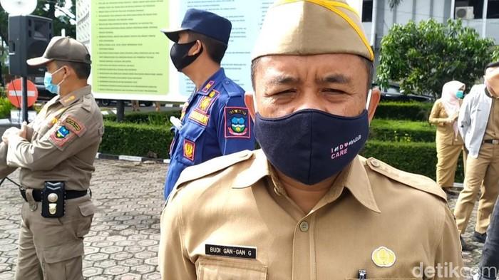 Kepala Dinas Kebudayaan dan Pariwisata Garut Budi Gangan.
