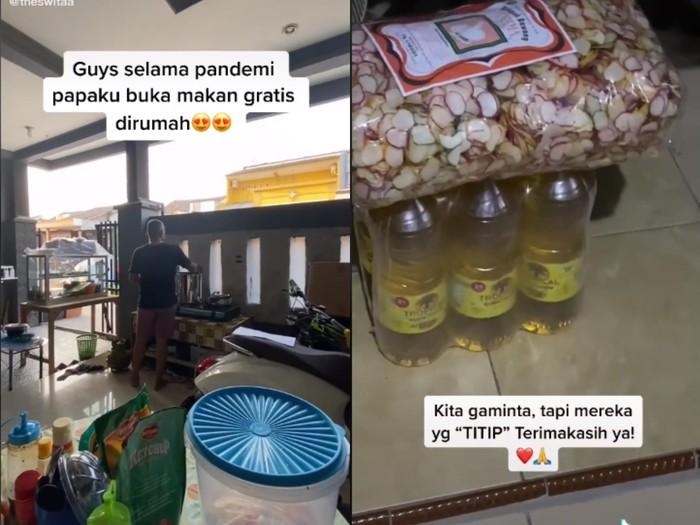 Satu Keluarga Ini Buka Warung Makan Gratis Buat yang Terdampak Corona