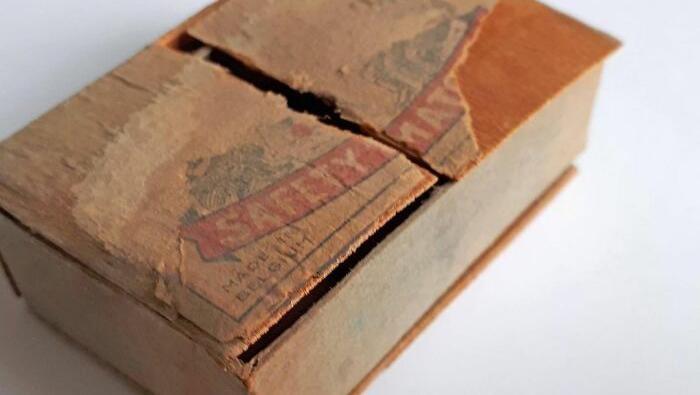 Ditemukan surat dari tahun 1941 dalam sebuah kotak korek api di Belgia. Isinya mengharukan.