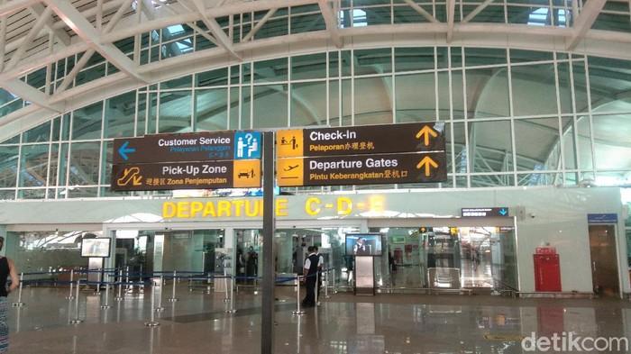 Terminal kedatangan di Bandara I Ngurah Rai (Angga Riza/detikcom)