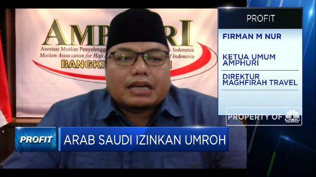 AMPHURI: Ada Batasan Usia, Hanya 42% Jamaah Terdaftar Yang Bisa Umrah(CNBC Indonesia TV)