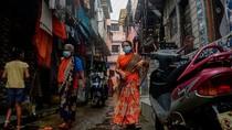 Capai 9,1 Juta Kasus, Penyebaran Covid-19 di India Mengkhawatirkan