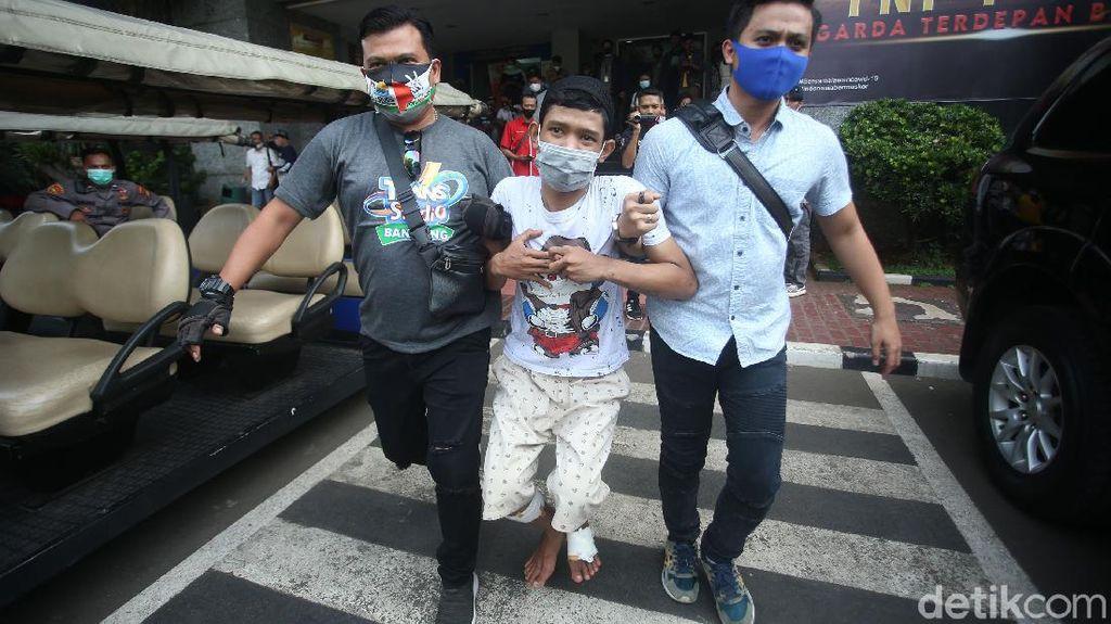 Polisi Dor Pelaku Begal Sepeda di Jakarta