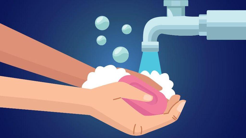 15 Oktober Hari Cuci Tangan Sedunia, PMI  Ajak Siswa Mencuci Tangan