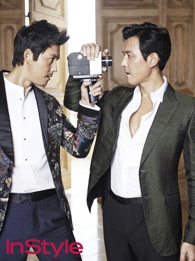 Jung Woo Sung dan Lee Jung Jae