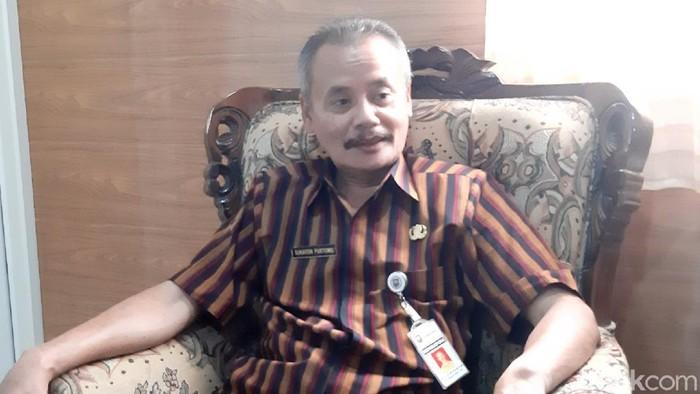 Kepala Disdikbudpora Kabupaten Semarang, Sukaton Purtomo.