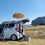 Mobil Mungil Kei Car Disulap Jadi Rumah Berjalan: Bisa Muat Kasur, Dapur, dan Sofa