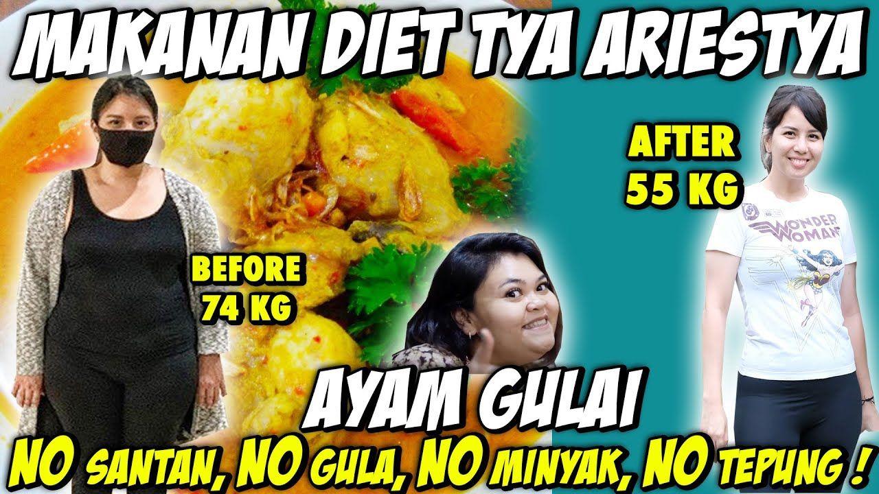 Menu Diet Tya Ariestya yang Berhasil Turun 19 Kg dalam 4 Bulan!