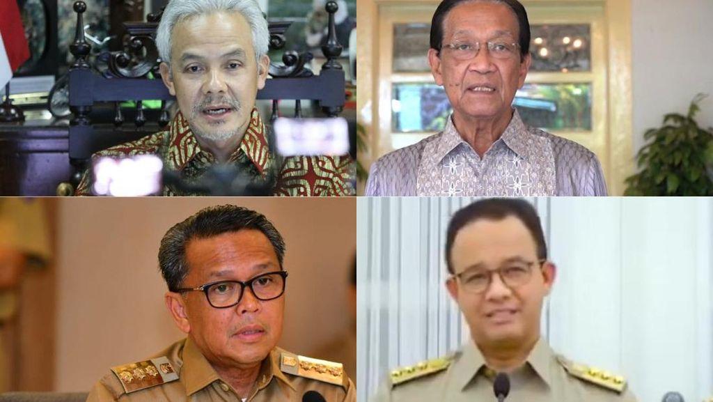 5 Gubernur Naikkan UMP 2021, Mana yang Paling Juara di Survei Capres?