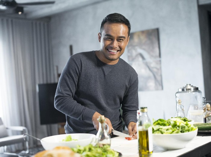 Pola makan sehat pria agar tak cepat loyo.