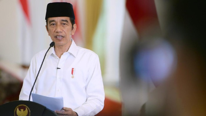 Presiden Jokowi dalam acara rakornas FKUB.