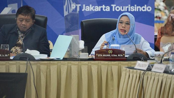 Rapat DPRD DKI Jakarta di resort Grand Cempaka Puncak Bogor