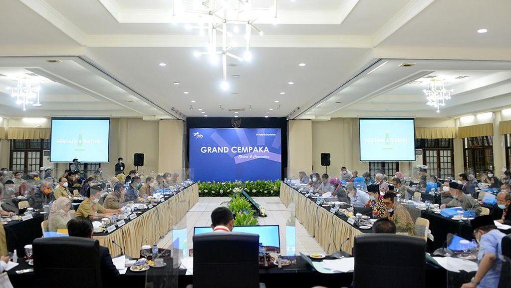Hari Ini, Banggar DPRD-Pemprov DKI Rapat Bahas APBD 2021 di Puncak Bogor