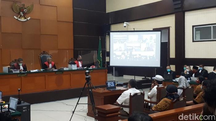 Sidang kasus surat jalan Djoko Tjandra (Dwi Andayani/detikcom)