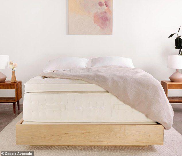 Tempat tidur ramah lingkungan dari Goop.