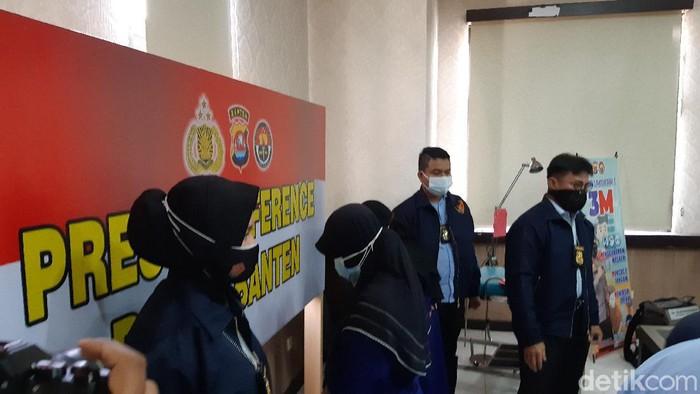 Tersangka aborsi di Klinik Sejahtera, Pandeglang.