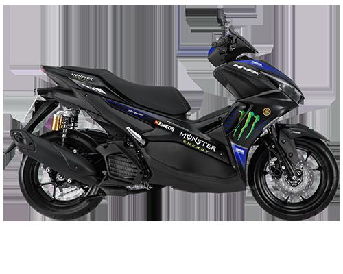 Yamaha Aerox 155 Connected (NVX 155) versi livery MotoGP
