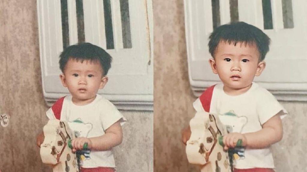 Hasil Sulap Foto Jadul yang Blur Jadi Jernih dengan Vivo V20