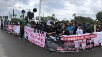 Demo Evaluasi 4 Tahun Gubernur Babel yang Sempat Batal Berakhir Ricuh