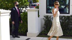 Ucapan Perpisahan Melania Trump Jelang Pelantikan Joe Biden