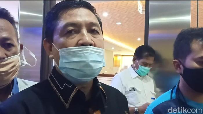 Komite Eksekutif Koalisi Aksi Menyelamatkan Indonesia (KAMI), Ahmad Yani (Kadek Melda/detikcom)