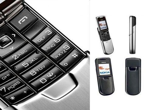 Nokia 6300 dan Nokia 8000