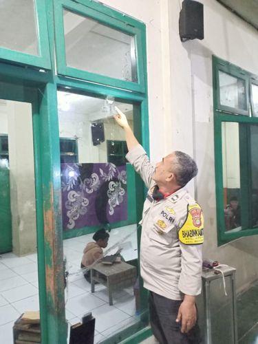 Peluru nyasar ke pesantren Bekasi, Jawa Barat (Dok istimewa)