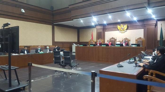 Pemeriksaan saksi di sidang suap mantan Sekretaris MA Nurhadi