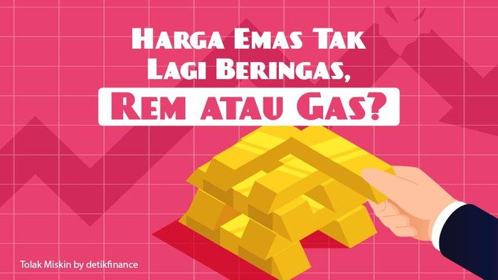 Podcast Tolak Miskin: Harga Emas Tak Lagi Beringas, Rem atau Gas?