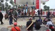 Kecewa karena Tak Bertanggung Jawab, Keluarga Korban Asusila Rusak SPBU